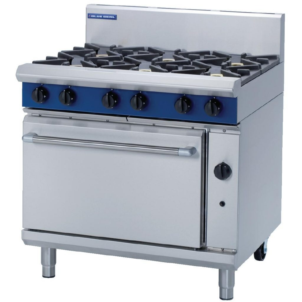 Blue Seal G506D Evolution gas range cooker