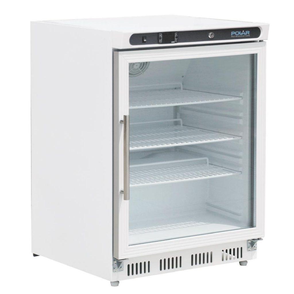 Polar CD086 glass door fridge
