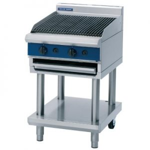 Blue Seal G594-LS Nat Gas 600 mm wide Chargrill