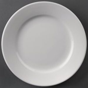 Athena Hotelware, Wide Rimmed Plates 165mm diameter pack of 12, CC206